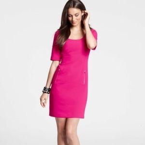 Ann Taylor Hot Pink Dress